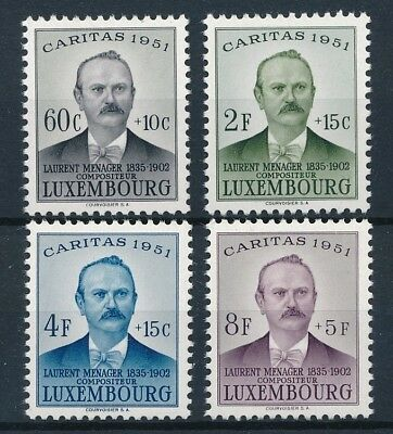 [53995] Luxembourg 1951 good set MNH Very Fine stamps $45