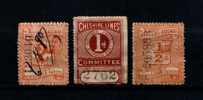 Great  Britain   Railway & Newspaper  Parcel  Collection.  Rp