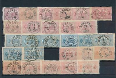 [G11162] Sweden good lot of classics stamp used. The most is very fine