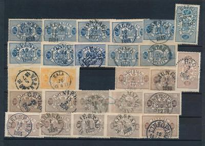 [G11163] Sweden good lot of classics stamp used. The most is very fine
