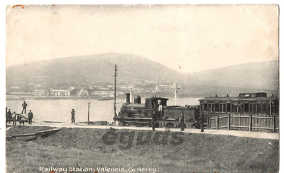 Postcard of Valentia Island Railway Station Co Kerry 1920s