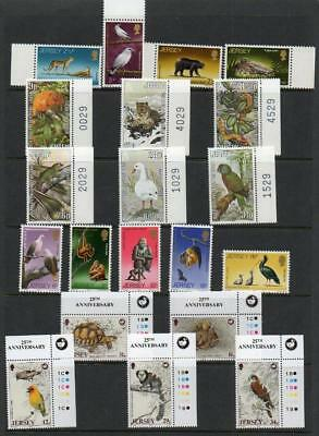 (C324)  Jersey Wild Animals In 4 Sets Mnh As Scan