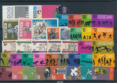 [G113829] Mexico Olympics Good lot of Very Fine MNH stamps