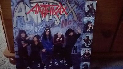 Anthrax I'm The Man (Live) 12inch single