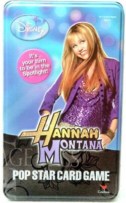 Hannah Montana Pop Star Card Game, Opened Never Used