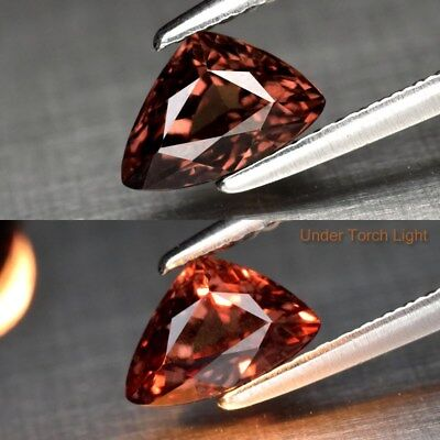1.10ct 7.5x4.9mm Trillion Natural Unheated Color Change Garnet, Africa