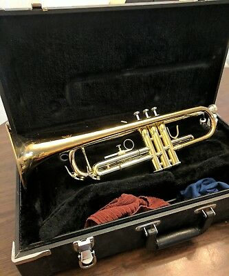 Jupiter JTR-606MR Bb Trumpet With Hard Case and Mouth Piece