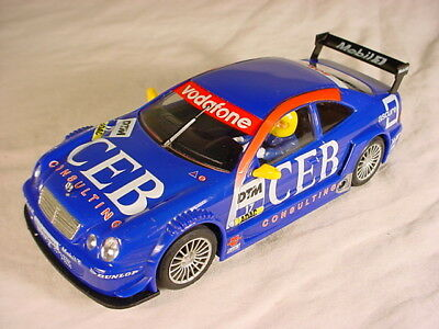 Ninco Mercedes CLK DTM #17 CEB 50287 VG slot car.