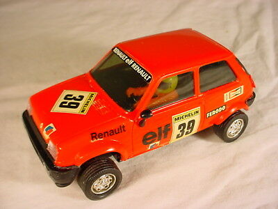 Spanish Scalextric Renault 5 Red #39 EXIN 4058 Near Mint.