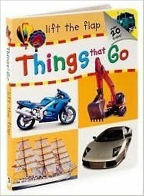 Things That Go ( LIFTS The Flap ), HINKLER, NUEVO LIBRO