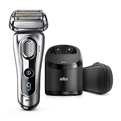 BRAUN Series 9 9290cc Men's Electric Shaver Wet/Dry +Clean and Renew Charger NEW