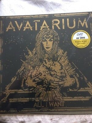 Avatarium All I Want Mini LP GOLD vinyl Limited
