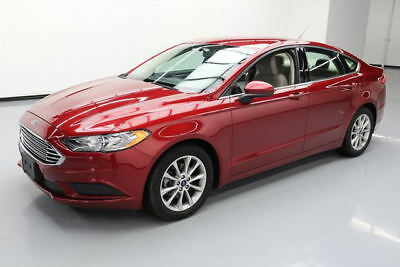 2017 Ford Fusion SE Sedan 4-Door 2017 FORD FUSION SE BLUETOOTH REAR CAM ALLOYS 31K MILES #145932 Texas Direct