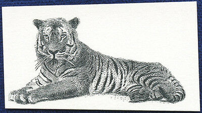 AMERICAN BANK NOTE Co. ENGRAVING: 531a TIGER