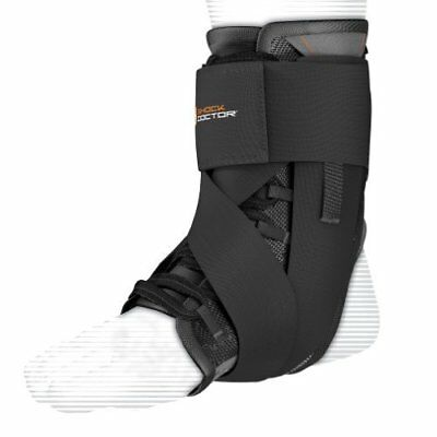 Shock Doctor Ultra Wrap Lace Ankle Support - Black, Large
