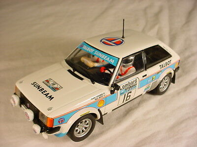 Scalextric SCX Talbot Sunbeam Lotus #16 Mint 63860