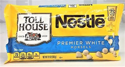 Nestle Toll House Premier White Chocolate Morsels 12 oz Chips