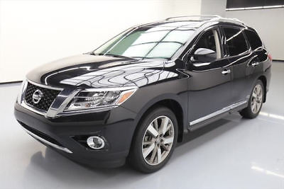 2015 Nissan Pathfinder  2015 NISSAN PATHFINDER PLATINUM 4X4 SUNROOF NAV 33K MI #664765 Texas Direct Auto