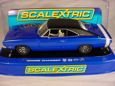 Scalextric Dodge Charger Blue C3535 MB DPR