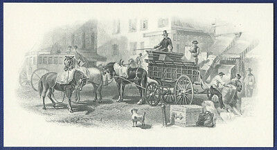 AMERICAN BANK NOTE Co. ENGRAVING: 27-72b UNLOADING THE BARREL