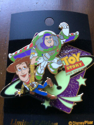 Disney Japan M & P - Toy Story & Beyond Collection Buzz & Woody Pin