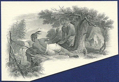 AMERICAN BANK NOTE Co. ENGRAVING: STALKING DEER
