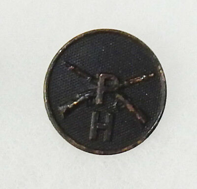 WWI H Company Pioneer  Infantry Enlisted Collar Disc