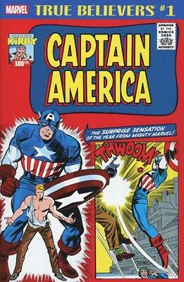 True Believers Kirby 100th Captain America #1 NM reprints Tales of Suspense 63