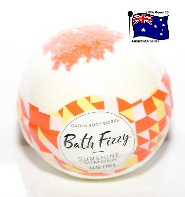 BATH & BODY WORKS Sunshine Mimosa BATH BOMB FIZZ MADE WITH SHEA 130GRAM
