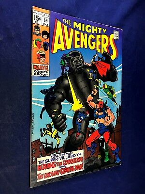 Avengers #69 (1969 Marvel) Kang appearance Silver Age NO RESERVE