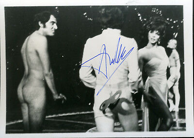 Anthony Newley Signed Photo From A Movie