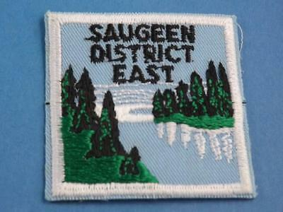 Boy Scouts Scouts Canada Saugeen District Patch Vintage Collector Badge