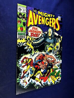 Avengers #67 (1969 Marvel) Ultron appearance Silver Age NO RESERVE