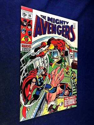 Avengers #66 (1969 Marvel) Ultron appearance Silver Age NO RESERVE
