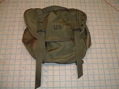 Genuine US GI Butt FIELD Pack Nylon Olive Drab Light TRAINING ISSUED ALICE ARMY