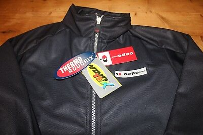 NWT Capo Forma Cycling Full Zip Jacket WindTex  Thermo Roubaix  Adult XL/L