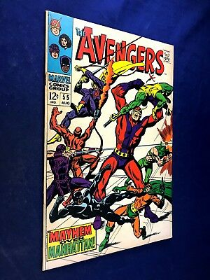 Avengers #55 (1968 Marvel) 1st appearance of Ultron Silver Age NO RESERVE