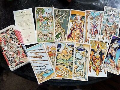 Daniloff Tarot GORGEOUS INDEPENDENT DECK Never Used! First Edition