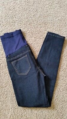 New! Pink Blush Maternity Denim Pants Blue Sz/30 Nwt Inseam 31