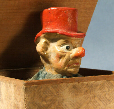 """Late 19th Century Jack In The Box - Germany """"SCROLL DOWN"""" FOR LARGER Pics!"""