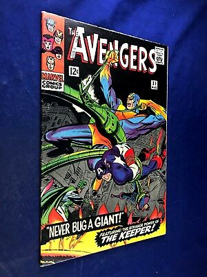 Avengers #31 (1966 Marvel) The Keeper appearance Silver Age NO RESERVE