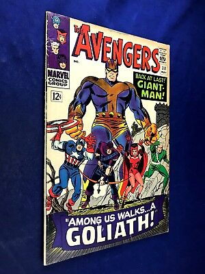 Avengers #28 (1966 Marvel) 1st appearace of The Collector Silver Age NO RESERVE