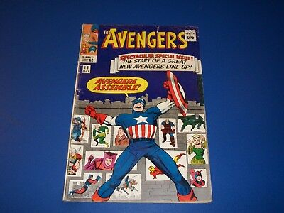 Avengers #16 Silver Age 1st New Team Huge Key Wow Quicksilver Scarlet Witch