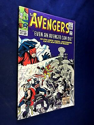 Avengers #14 (1965 Marvel) Ogor and the Kallusians appearacne NO RESERVE