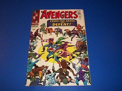 Avengers #24 Silver Age Quicksilver Scarlet Witch Fine Beauty Wow