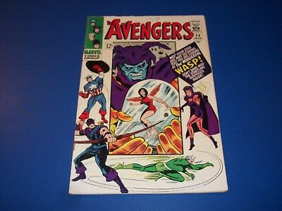 Avengers #26 Silver Age Quicksilver VG/F Wow