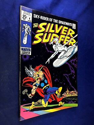Silver Surfer #4 (1969 Marvel Comics) Thor appearance NO RESERVE