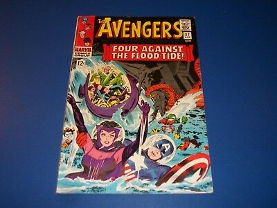 Avengers #27 Silver Age Scarlet Witch Quicksilver Solid Fine Beauty