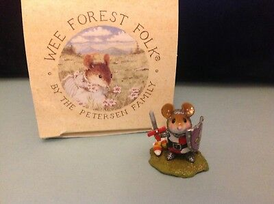 Wee Forest Folk, M-400 Halloween Knight, new in box