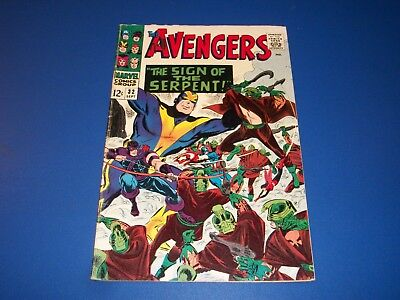 Avengers #32 Silver Age 1st Bill Foster Key Wow Goliath Solid VG/F